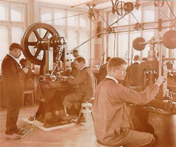 Ateliers Alpina vers 1900