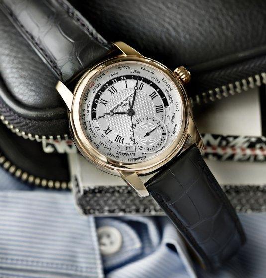 Frédérique Constant Classics Manufacture Worldtimer : l'heure en mode universel