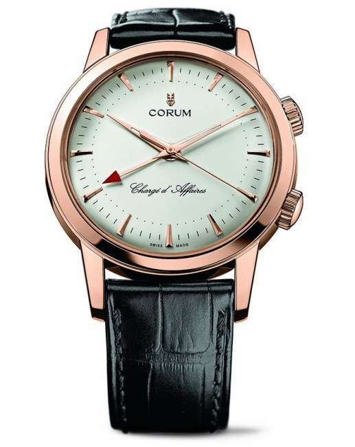 Corum Chargé d'Affaires en or rose