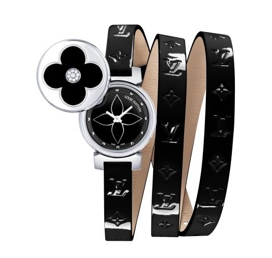 Louis Vuitton Tambour Bijou Secret Black and White