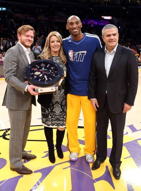 Basket-ball : Hublot devient chronométreur officiel des Los Angeles Lakers