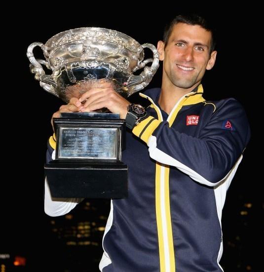 Novak Djokovic, ambassadeur Audemars Piguet remporte l'Open d'Australie pour la 3ème fois consécutive