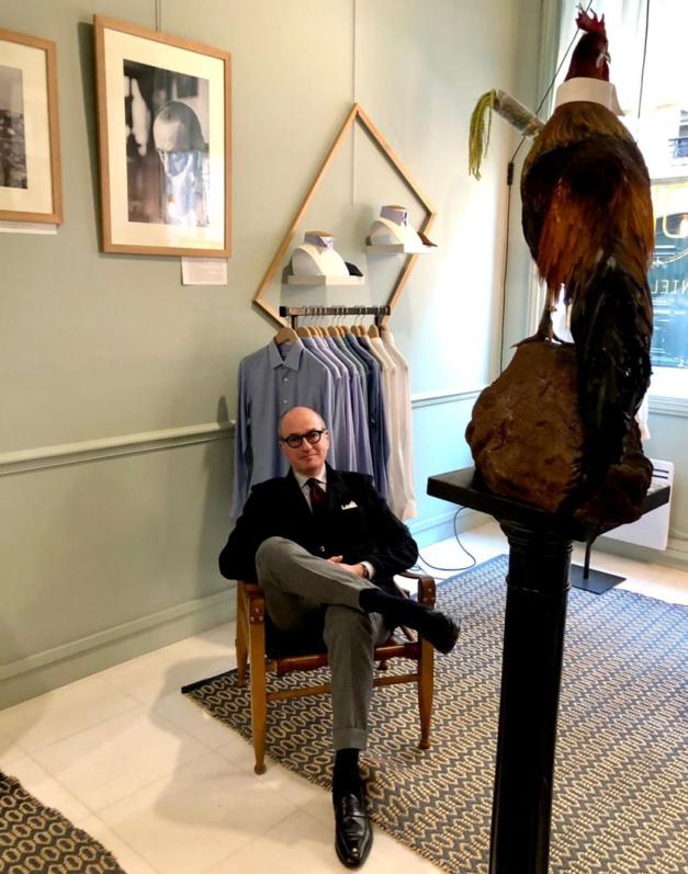 Daniel Lévy : classique ou mousquetaire, mais toujours une montre au poignet