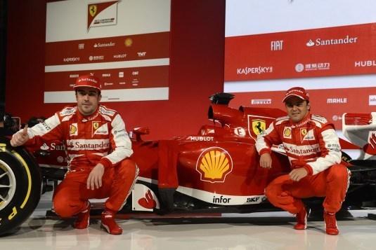 Formule 1 saison 2013 : la Scuderia Ferrari à l'heure Hublot