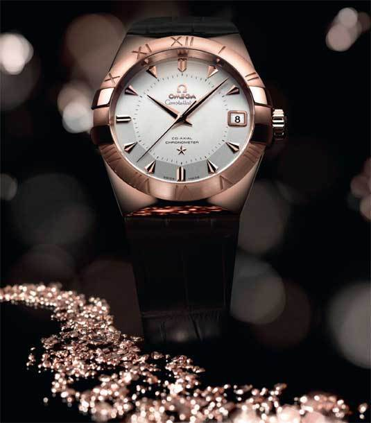 Omega Constellation Sedna : de l'or rose « durable »