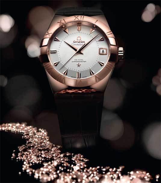 Omega Constellation Sedna : de l'or rose « durable »