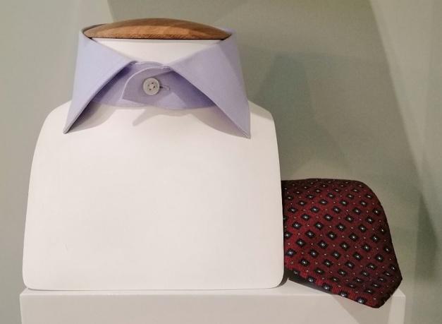 Daniel Lévy : de l'art de la chemise sur-mesure