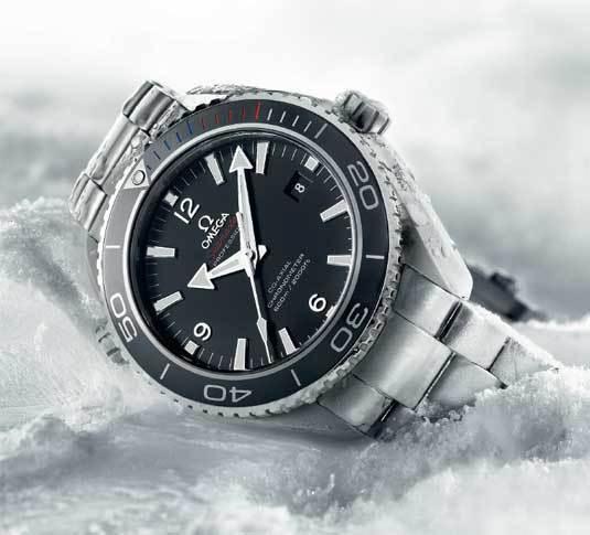 Seamaster Planet Ocean 45,5 mm « Sochi 2014 » Edition Limitée