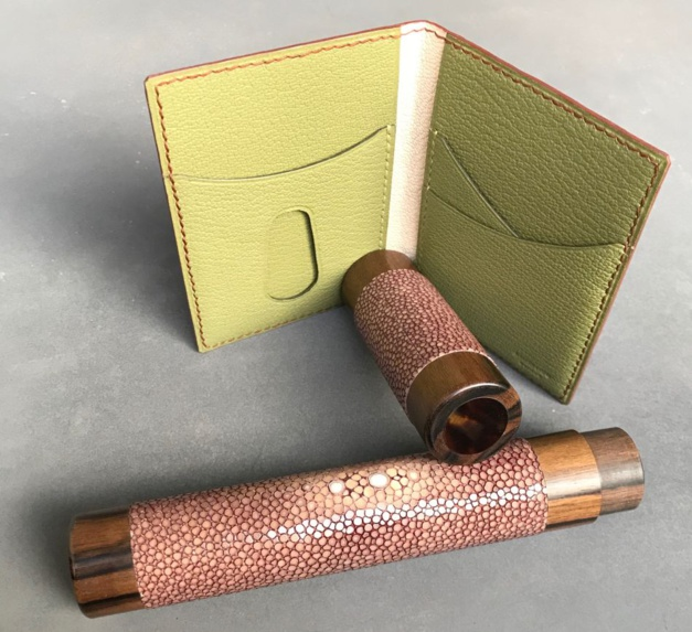 Un bracelet-montre ou un accessoire en cuir de Serge Amoruso pour Noël ?