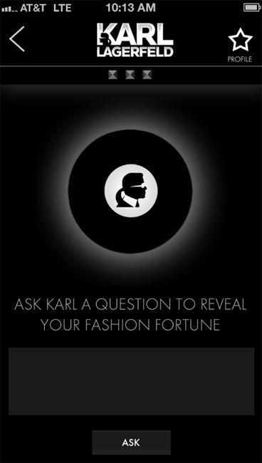 Watch Karl : l'application exclusive pour la sortie des montres Karl Lagerfeld