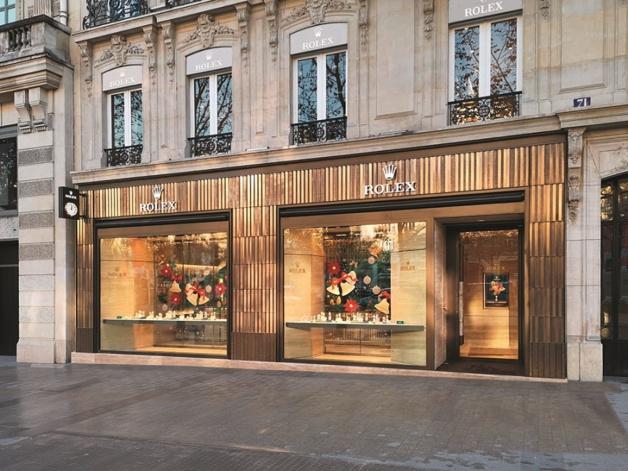 Rolex Champs-Elysées copyright Pascal Mandez