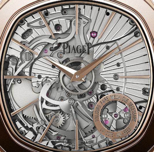 Piaget Emperador Coussin Répétition Minutes Extra-plate : ultraplat et résonnance maximale