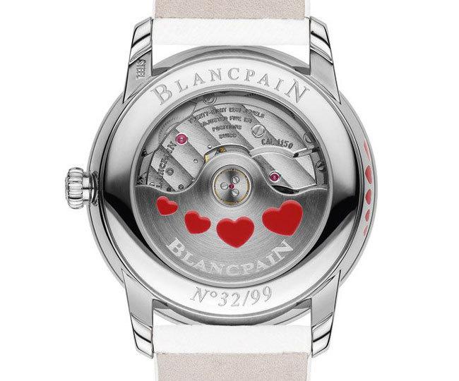 La Saint-Valentin selon Blancpain : un amour de montre