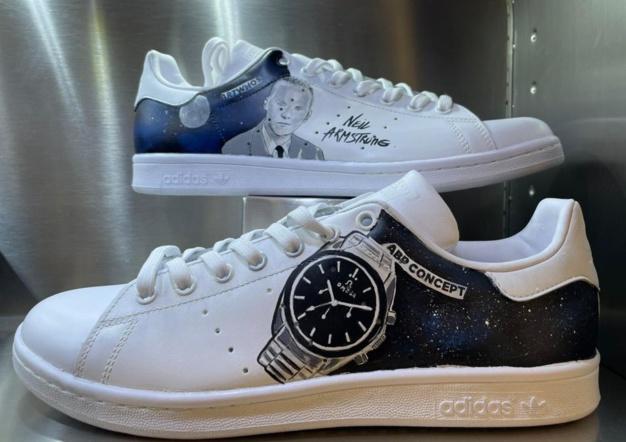 """Les sneakers """"horlogères"""" d'ABP Concept"""