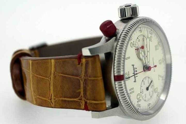Hanhart habillée par l'Atelier du Bracelet Parisien