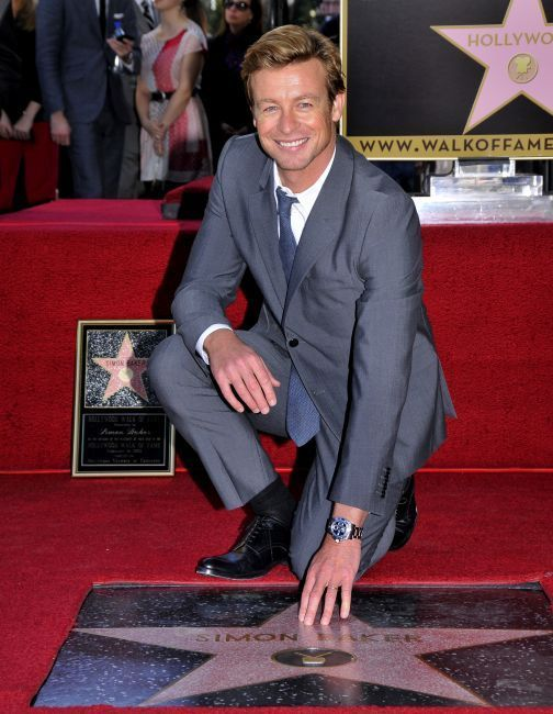 Simon Baker sur Hollywood Walk of Fame