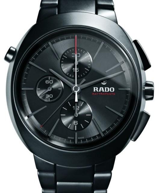 Rado D-Star Rattrapante céramique noire mate