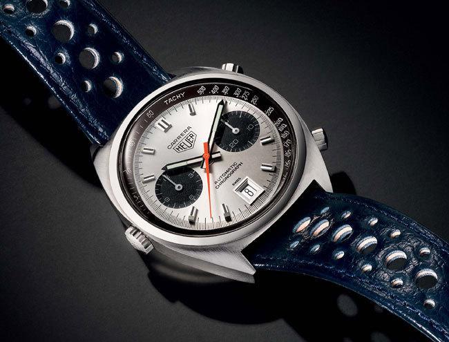 TAG Heuer Carrera : un chrono sportif de légende fête cette année ses 50 ans