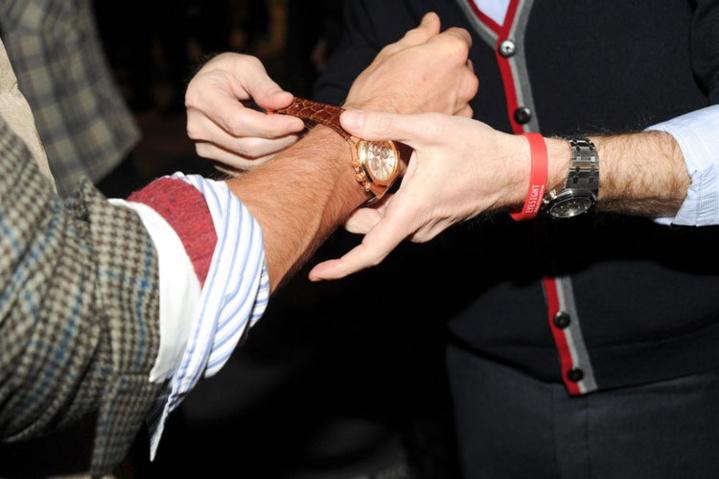 Audemars Piguet défile avec Michael Bastian à la Fashion Week de New-York
