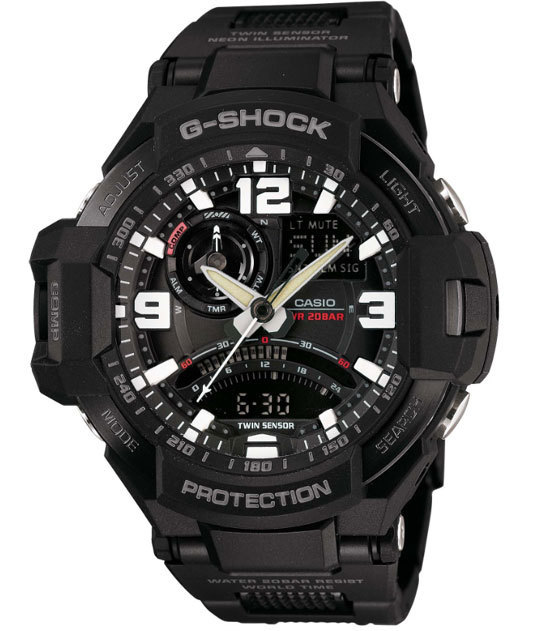Casio G-Shock Gravity Defier Flight Compass