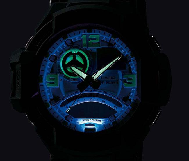 Casio G-Shock Gravity Defier Flight Compass