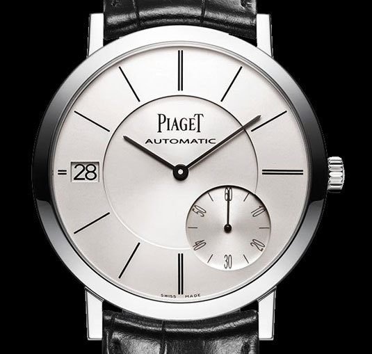 Piaget Altiplano Date or gris