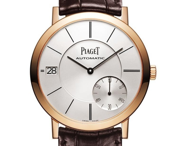 Piaget Altiplano Date or rose