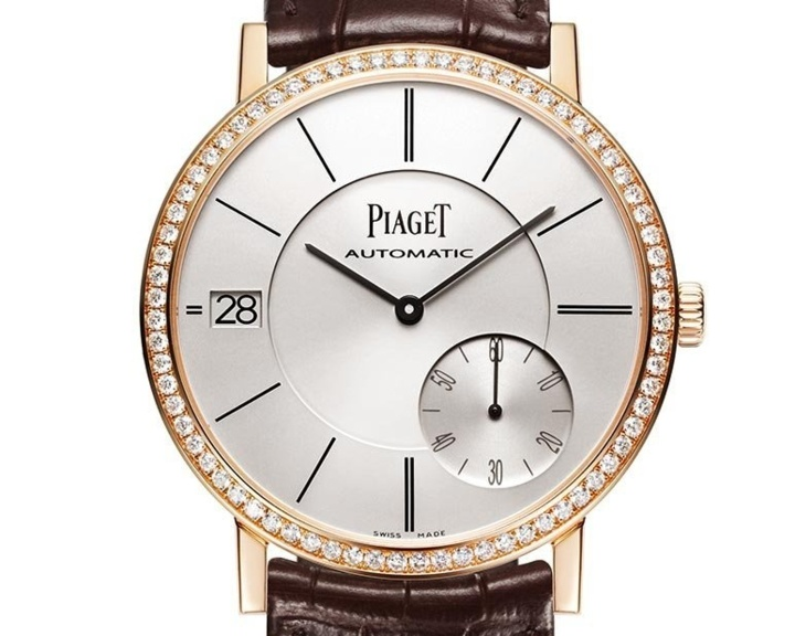 Piaget Altiplano Date or rose et diamants