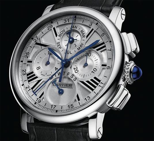 Cartier Rotonde Quantième Perpétuel Chronographe