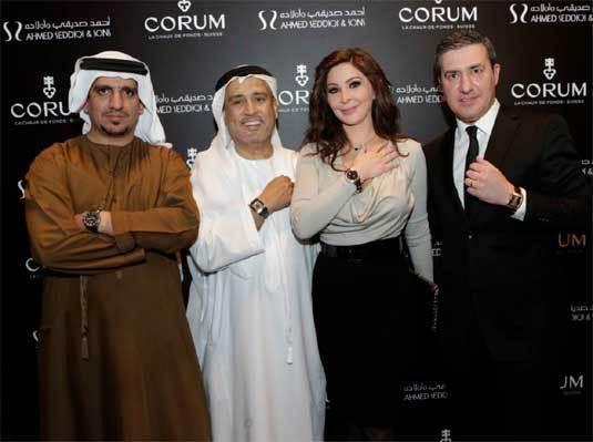 Corum : une exposition au Dubaï Mall de Dubaï