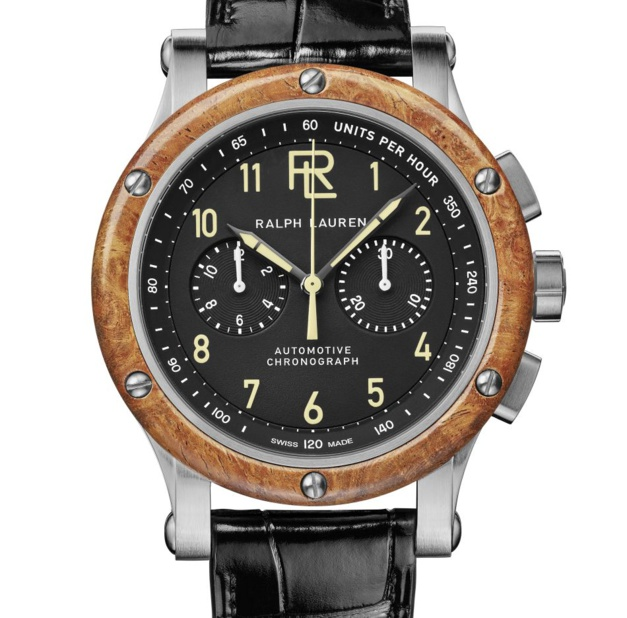 Ralph Lauren Automotive 42 mm avec bracelets interchangeables