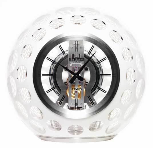La pendule Jaeger-LeCoultre Atmos Hermès : un splendide exemple de co-branding