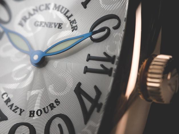 Frank Muller Crazy Hours Cintrée Curvex : les folles heures
