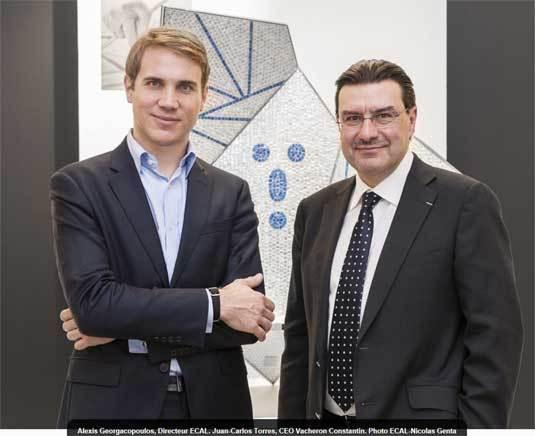 Vacheron Constantin et l'ECAL lance un Master en design industriel orienté sur les savoir-faire et le luxe