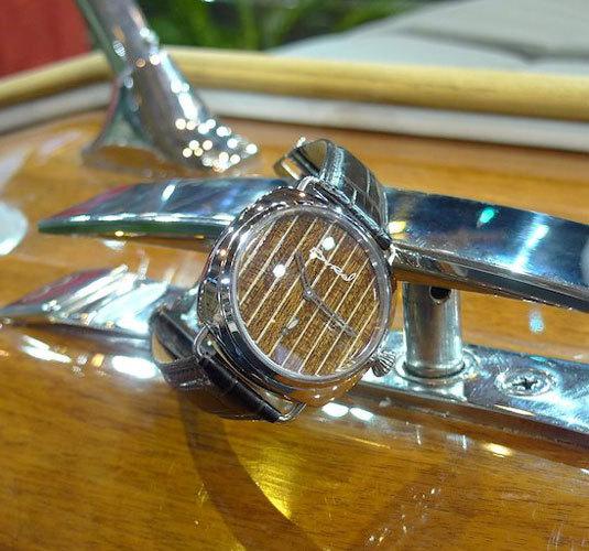 Burel : nouvelle maison horlogère française proposant des cadrans en bois précieux