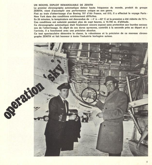 Zenith Chronomaster Revival A385 : retour aux origines