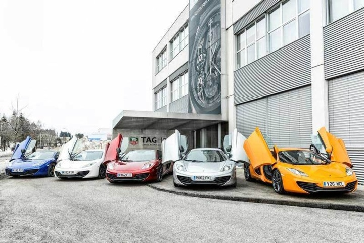 TAG Heuer et McLaren : un partenariat élargi et renforcé en 2013