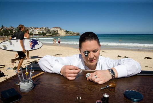 Girard-Perregaux : les meilleurs jeunes talents de l'horlogerie sont à Sydney pour le lancement de la Hawk