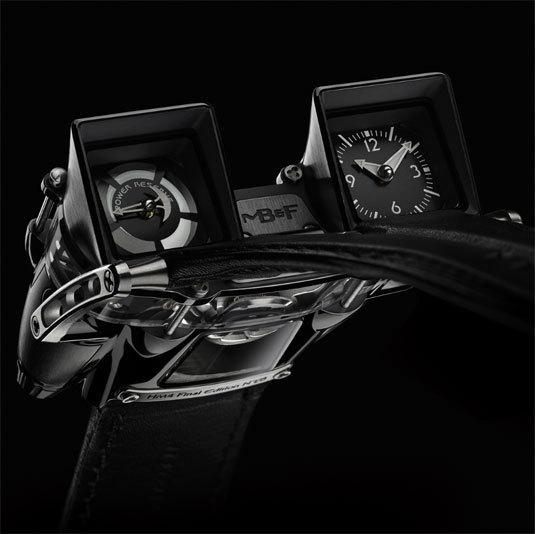 MB&F Horological Machine No4 Final Edition : montre furtive et définitive…