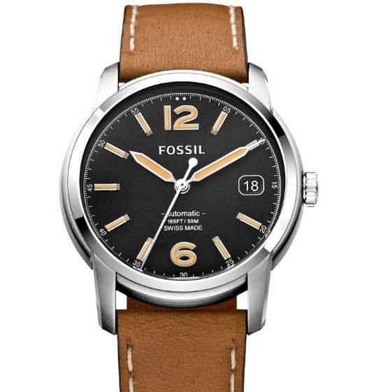 Fossil Swiss : des montres mécaniques et Swiss Made
