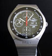 Chronographe en aluminium Porsche Design by IWC