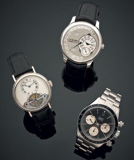Tajan : une belle vente horlogère le 25 mars 2013 à Paris