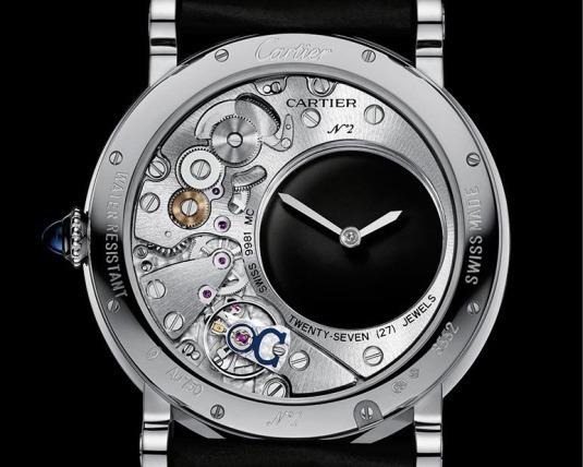 Cartier Rotonde Mystérieuse : heures hypnotiques