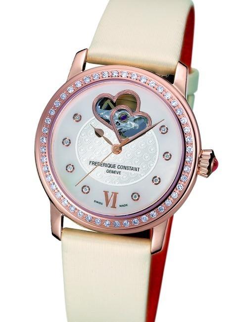 Frédérique Constant : une collection de montres féminines pour la Fédération mondiale du Cœur