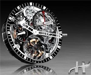 « Bigger Bang » : le premier chronographe Roue à colonne Tourbillon