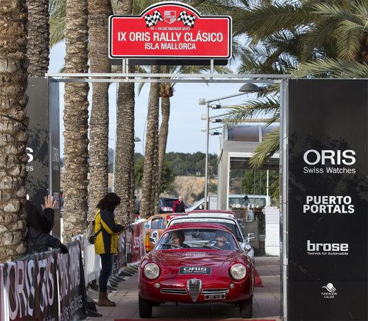 9ème Oris Rally Clásico Isla Mallorca : belle rencontre de voitures classiques