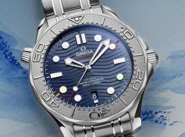 Omega Seamaster Diver 300M Edition Spéciale Beijing 2022