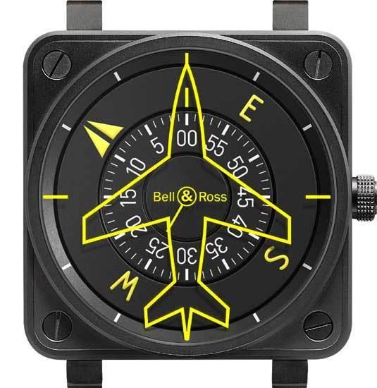 BR01-92 Flight Compass : Bell & Ross garde le cap