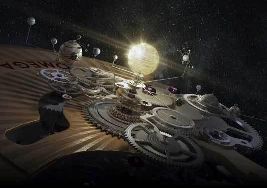 Omega : lancement d'un film d'animation en 3D sur la technologie du Co-Axial