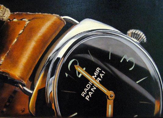 Mister-Chrono expose Martine Poirier, peintre horloger